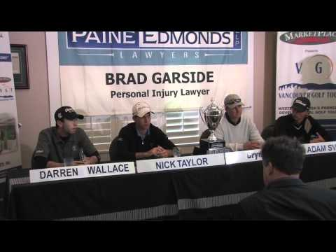 2011 Vancouver Open Press Conference