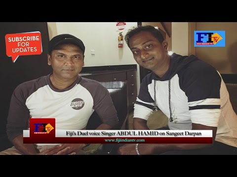 Fiji Indian TV-Abdul Hamid on Sangeet Darpan