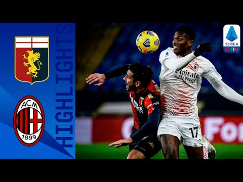 Genoa 2-2 AC Milan | Destro Double Holds Leaders Milan to a Point! | Serie A TIM
