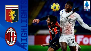 Genoa 2-2 AC Milan Destro Double Holds Leaders Milan To A Point Serie A T M