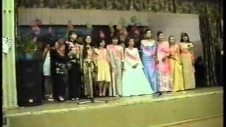 Выпускной 2004 год 11Г Аскизской школы интернат