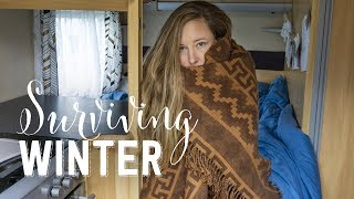How To Stay Warm In Your Caravan In Winter