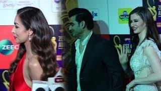 Malaika Arora Khan Awkward Moment As Ex Husband Arbaaz Khan Arrives With GF At Zee Cine Awards 2019