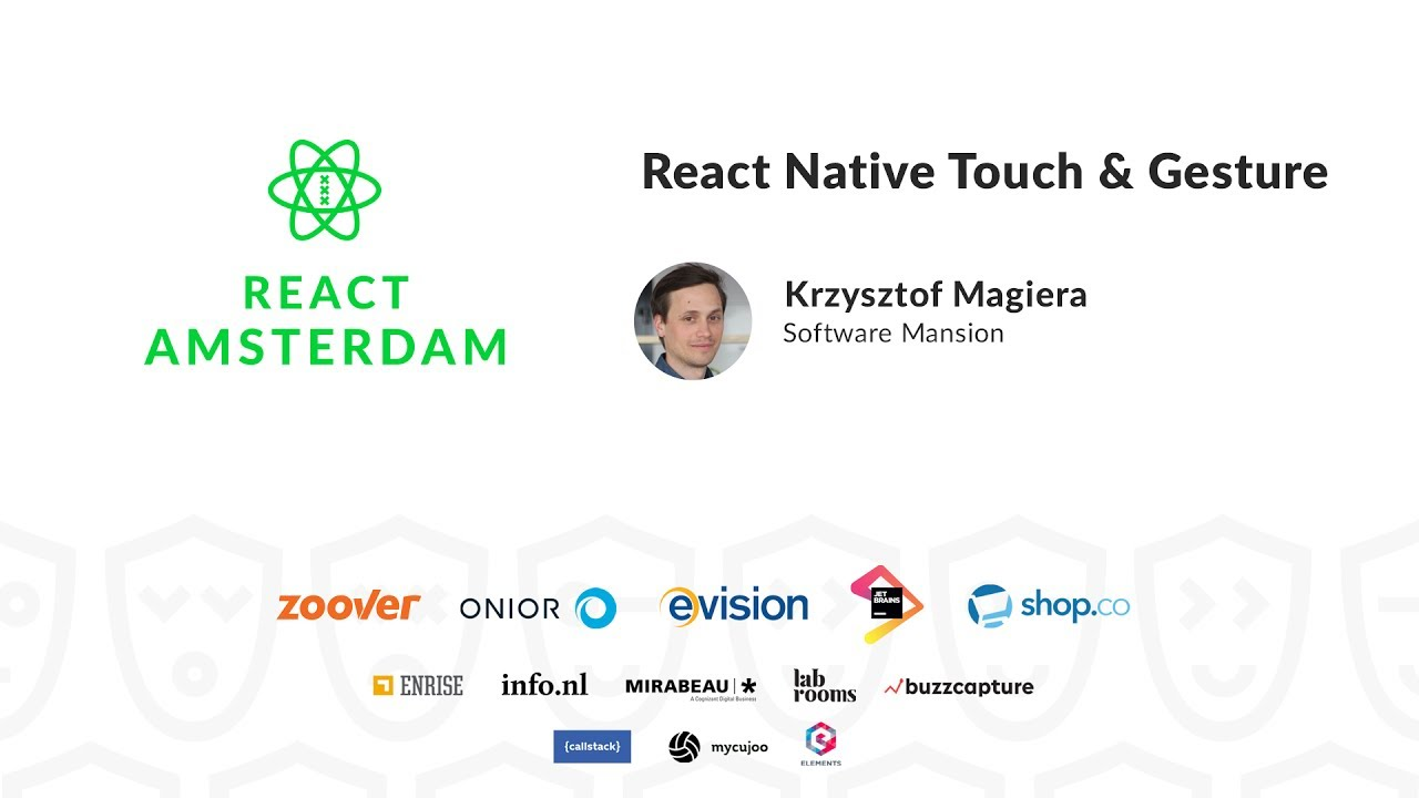 React Native Touch & Gesture – Krzysztof Magiera
