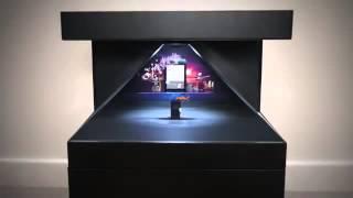 видео 3D-голограмма в устройствах Apple