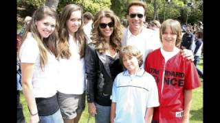 Arnold Schwarzenegger proves his love to his family