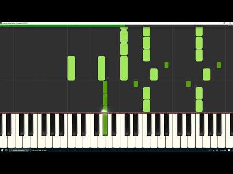 Anathema - Ariel - Synthesia Tutorial With Free Sheet Music Download