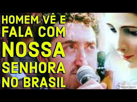 Homem vê e fala com Nossa Senhora em São José dos Pinhais - Paraná - Brasil