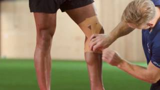 Elastoplast: How to strap and support the knee