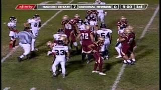 FULL GAME: Cardinal Newman vs Rancho Cotate, 10-9-15