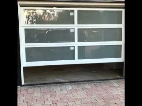 Siw Impact Glass Garage Door Youtube