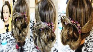 Коса с резинками/ Косы и плетения