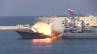 Крым Севастополь Пуск ракеты (не для каналов России)