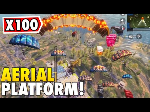 LANDING ON AERIAL PLATFORM 100 TIMES IN CALL OF DUTY MOBILE BATTLE ROYALE!