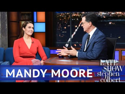 Mandy Moore Got Her Start Singing The National Anthem