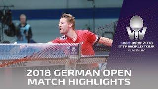 2018 German Open Highlights I Tomokazu Harimoto vs Ruwen Filus (R32)