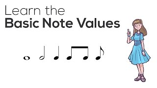 Learn the Basic Music Note Values: Quarter, Half, and Whole Notes