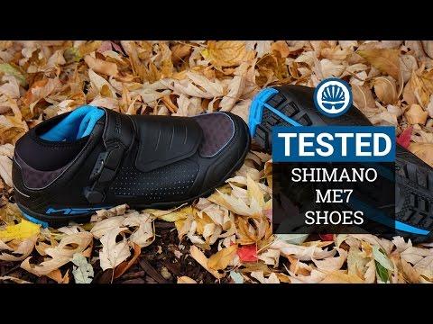 Shimano ME7 - Light, Comfy, High-End Trail/Enduro Shoe