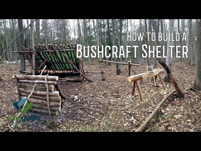How to Build a Bushcraft Shelter