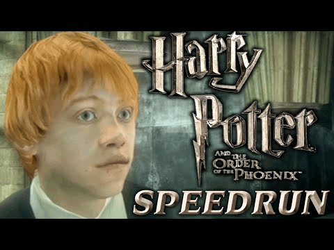 Harry Potter and the Order of the Phoenix Speedrun [WR]