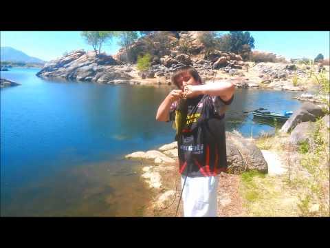 Fishing For Largemouth Bass In Prescott, Arizona