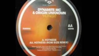 Dynamite MC & Origin Unknown - Hotness RAMM45