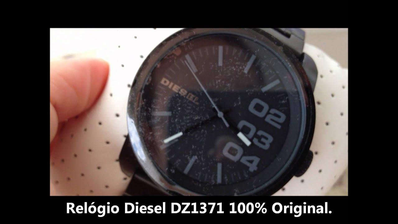 d4d82c4a6e8c1 MiniSound Imports Relógio Diesel Masculino DZ1371 - YouTube