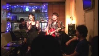 2014-7-18 下北沢cafe&Bar Bluemoonライブより.