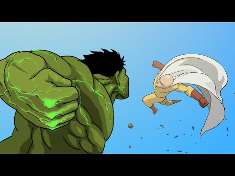 Hulk Vs. Saitama (Full Version) -Taming The Beast