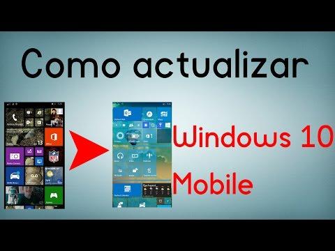 Como actualizar cualquier móvil a Windows 10 Mobile