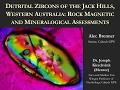 Detrital Zircons of the Jack Hills, Western Australia… - A. Brenner - 1/12/17