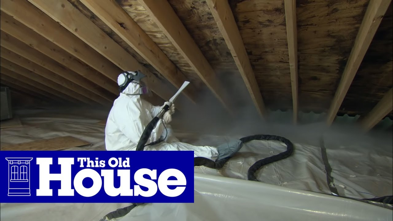 How To Clean Up Attic Mold This Old House Youtube