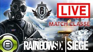 [FR] Live - En route vers le Diamant - Match classé - Rainbow Six Siege (25.08 dès 17:00)