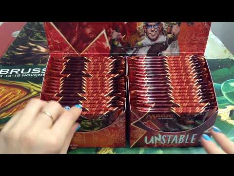 Unstable Booster Box opening - Foil full art Forest!!!