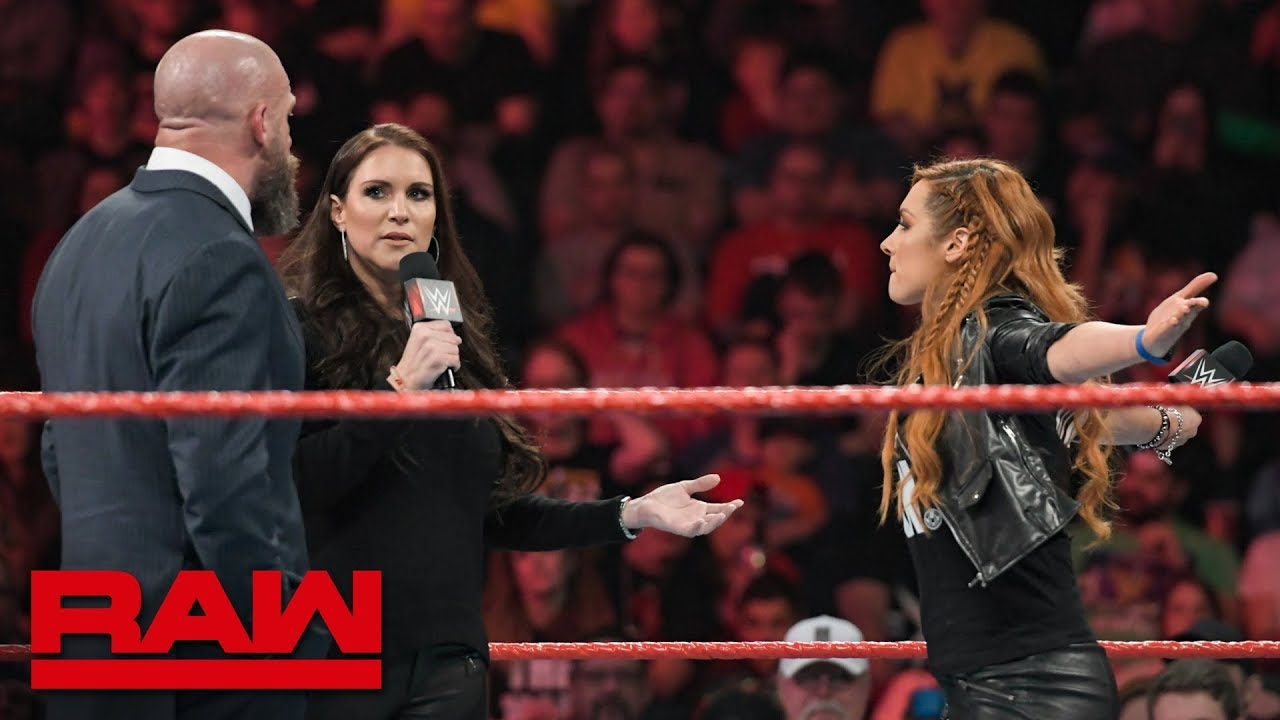 Becky Lynch will be cleared to face Ronda Rousey at WrestleMania: Raw, Feb. 11, 2019