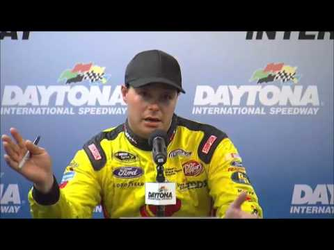 David Gilliland Pole Winner Coke Zero 400 Interview  NASCAR Video