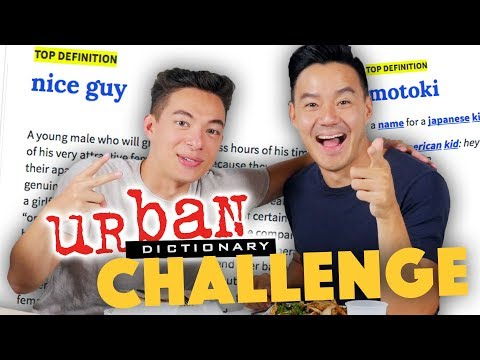 URBAN DICTIONARY CHALLENGE ft. Motoki Maxted - Lunch Break!