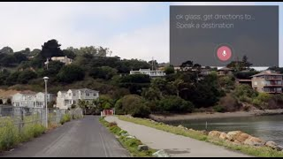 Repeat youtube video Get Directions [through Google Glass]