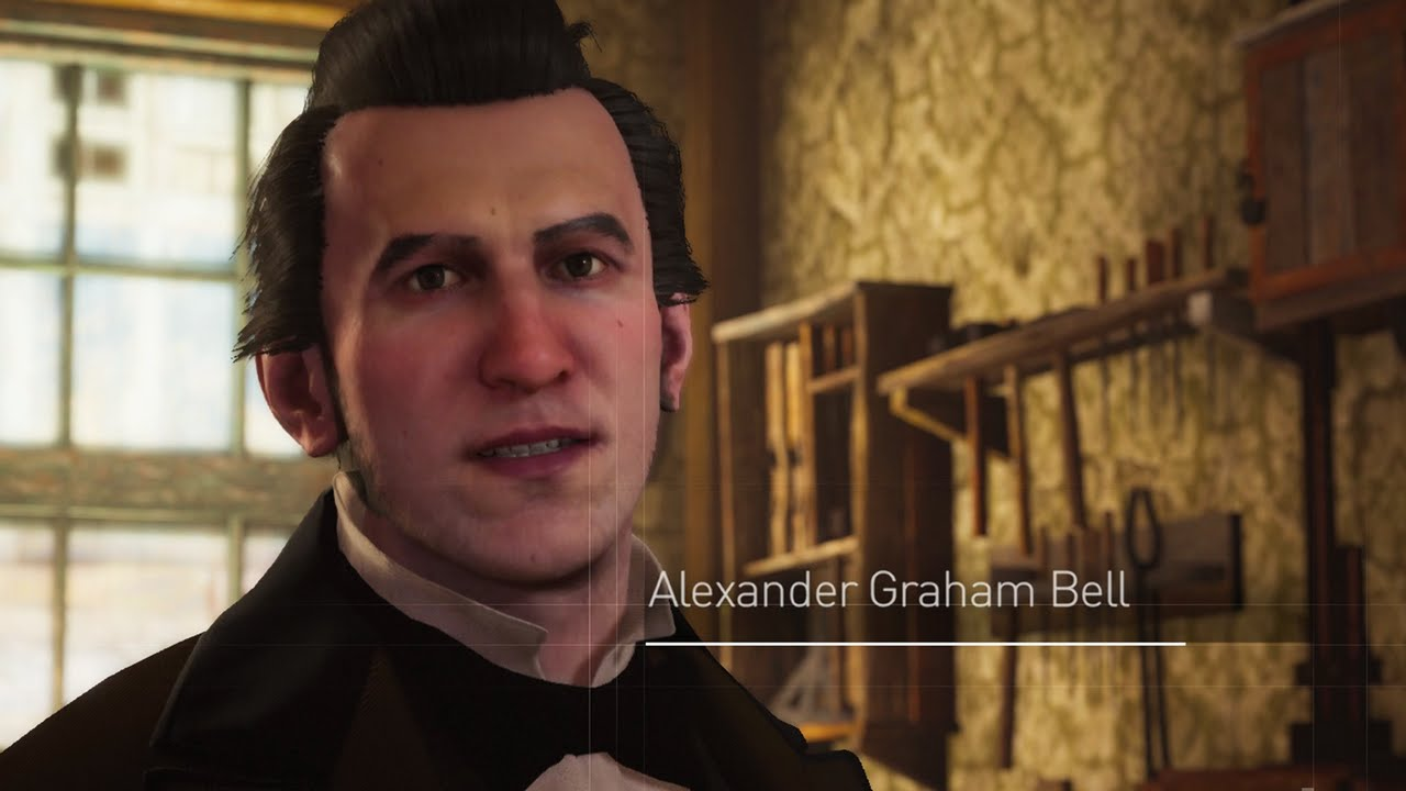 Assassin\'s Creed Syndicate - Meeting Alexander Graham Bell - YouTube