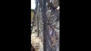 Штукатурка из Перлита М-100(Перлитовая штукатурка фасада дома.Толщина около 5см Раствор : 1- цемент 1- песок 5- перлит + добавки Нанесение..., 2015-09-11T18:36:37.000Z)