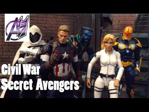 Captain America Civil War [Stop Motion Film](Epilogue)-Secret Avengers