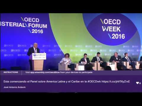 OECD Forum 2016 – Latin America: Productivity, Inclusive, Growth & Governance