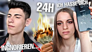 FREUNDIN IGNORIEREN FÜR 24 STUNDEN ( ESKALIERT ) !!!