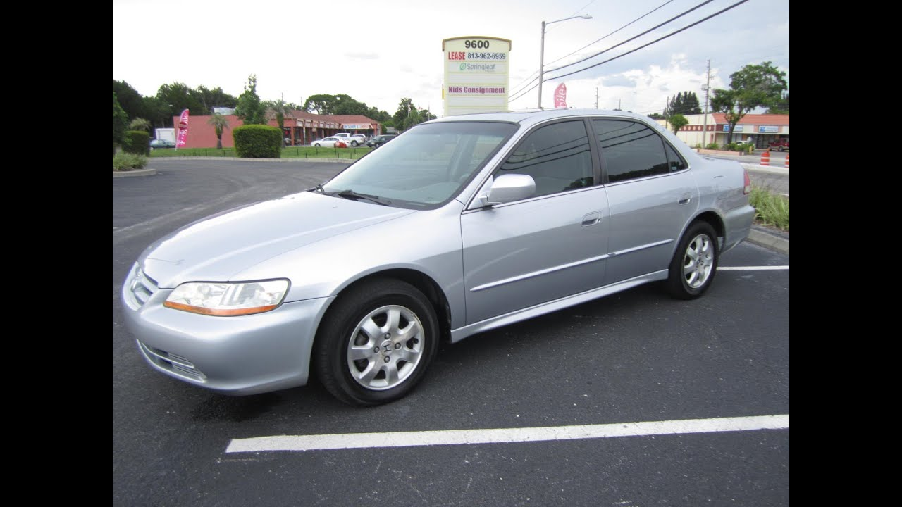 SOLD 2002 Honda Accord EX Meticulous Motors Inc Florida For Sale   YouTube