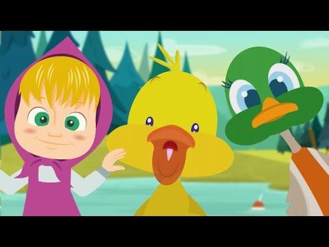 IL BALLO DEL QUA QUA con Masha Orso ed Elsa - Baby Dance Compilation di Canzoni per Bambini