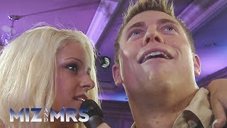 On the series premiere of Miz & Mrs. on USA Network, The Miz recoun...