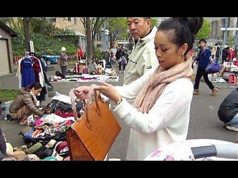 TOKYO FLEA MARKET! - March 29, 2013 - itsjudyslife vlog
