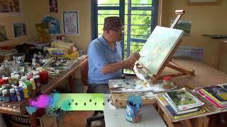 Pintando Con Juan Arango 02 Mayo