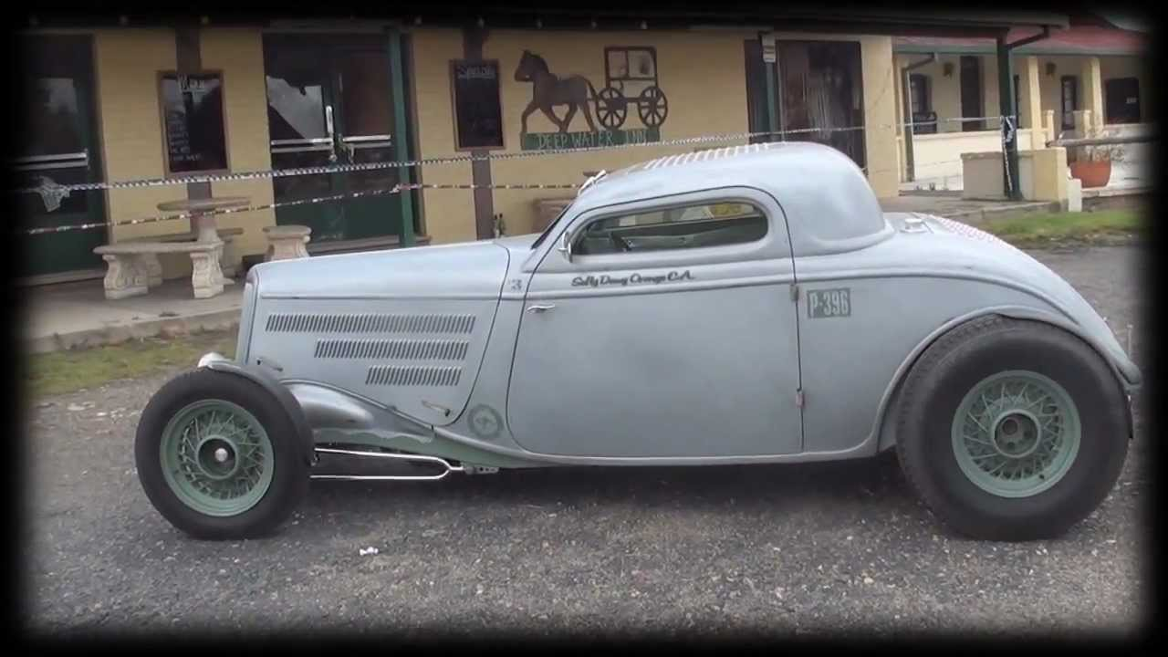 1934 Coupe Hot Rod - YouTube