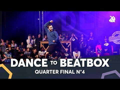 IAN EASTWOOD vs DYLAN MAYORAL feat KRNFX & NAPOM  Dance Battle To The Beatbox 2018  14 Final